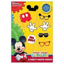 mickey mouse photo booth props 8ct mickey mouse party photo props target
