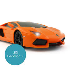 lamborghini aventador headlights licensed lamborghini aventador 1 24 remote control rc car vehicle