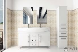 Celine Double Sink Vanity White Bathgemscom - White 48 inch bath vanity
