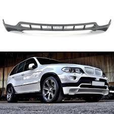 Bmw X5 Alpina - e53 x5 4 8 is style front bumper spoiler addon lip
