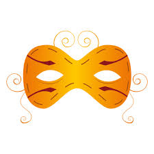 yellow carnival mask transparent png u0026 svg vector