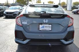 custom honda hatchback new 2018 honda civic hatchback ex l navi hatchback near fort wayne