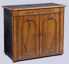 Walnut Cabinet Irish Walnut Campaign Side Cabinet Antique Campaign Side Cabinets
