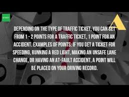 red light ticket points how many points do you get on your license for running a red light