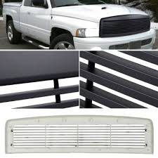 dodge ram white grill dodge ram 1994 2001 black billet grille a1018n95148