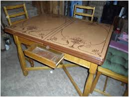 Retro Kitchen Table by Antique Kitchen Chairs Fair Metal Kitchen Table Home Design Ideas