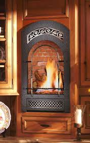 Fireplace Electric Insert Gas Fireplace Office Small Luxury Private Residence Design