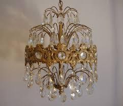 Ebay Chandelier Crystal Vintage Crystal Prism Waterfall Chandelier 6 Tier 6 Lights