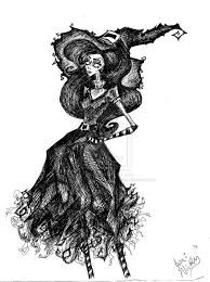 black and white vintage halloween images witch sorceress enchantress techgnotic on deviantart witchery