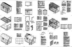 porch blueprints 14 x 8 cabin shed with porch plans blueprint p61408 free