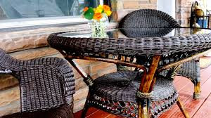 Patio Furniture Boise by Best Painting Wicker Furniture Design Ideas Black Idolza