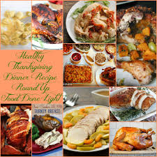 healthy thanksgiving turkey recipe up food done light