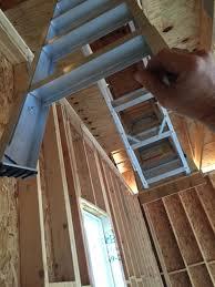 attic access ladder general discussion contractor talk