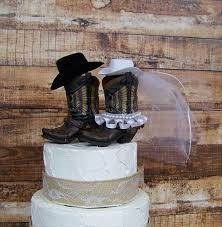 cowboy wedding cake toppers 10 rustic wedding cake toppers real country