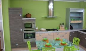 peinture cuisine vert anis décoration peinture cuisine vert anis villeurbanne 22