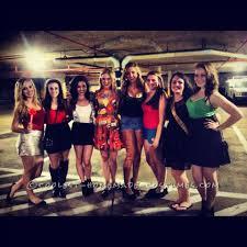 seven deadly sins group halloween costume