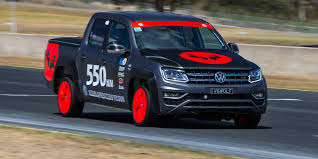 volkswagen amarok custom amarok v6 sets record at wtac
