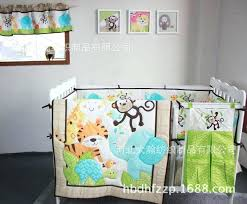 elephant baby crib quilt pattern infant boy crib quilts cotton