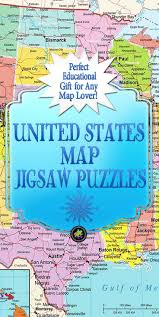 Kids Map Of United States by United States Map Jigsaw Puzzle Jigsaw Puzzles For Adults
