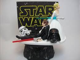wars wedding cake topper wars darth vader stormtrooper and groom wedding