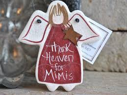 mim gifts grandmother birthday ornament personalized