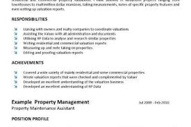 Real Estate Salesperson Resume Property Valuer Cover Letter