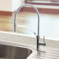 Designer Kitchen Tap The Bluci Arco Pull Out Hose Professional Designer Kitchen Tap In