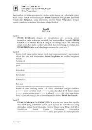contoh surat perjanjian pengikat jual beli tanah dan bangunan fh uii