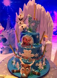 12 amazing frozen birthday cakes catch party
