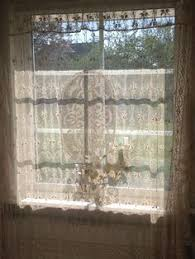 Shari Lace Curtains Lace Stretched Over A Frame A Cool Alternative Window Treatment