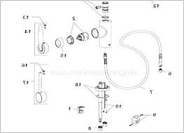 pegasus kitchen faucet parts pegasus shower faucet parts diagram inspirational pegasus
