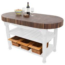 boos kitchen island kitchen island harvest table with 4 end grain walnut oval