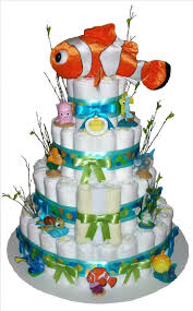best 25 finding nemo diaper cake ideas on pinterest baby shower