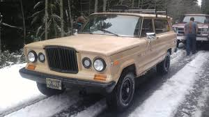 Fancy Jeep 1985 Jeep Grand Wagoneer