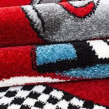 tapis rond chambre tapis pour chambre de garçon crème et gris voiture f1 speed