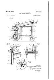 patent us2508605 corn detasseling machine google patents