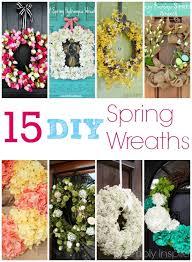 whimsical spring forsythia wreath jenna burger 15 diy spring wreath ideas