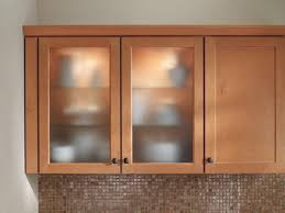 Frosted Glass White Cabinet Doors With Kitchen Wooden Cabinets - Kitchen cabinets with frosted glass doors