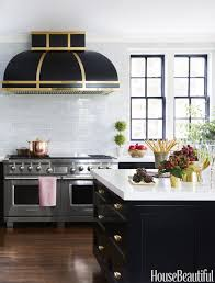 appliance black subway tile kitchen best kitchen backsplash