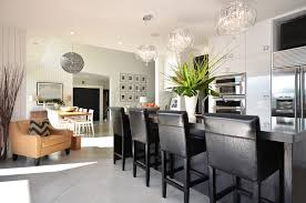Kitchen Chandelier Lighting Drum Shade Chandelier Kitchen Modern With Breakfast Bar