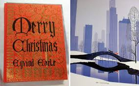 eyvind earle christmas cards books and dvds eyvind earle the complete christmas card