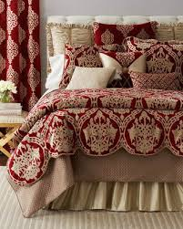 Red And White Comforter Sets Luxury Bedding Sets U0026 Collections At Horchow