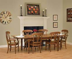Country Dining Room Furniture Sets Astonishing Amish Provence Dining Table At Room Furniture