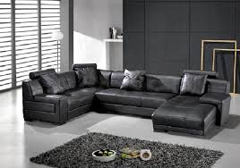 U Sectional Sofa Sectional Sofa Design Awesome U Shaped Leather Sectional Sofa