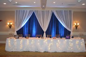 wedding backdrop to buy furniture buy pipe and drape fresh navy blue white fairy tale