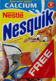 2000 stuart book issued nesquik cereal