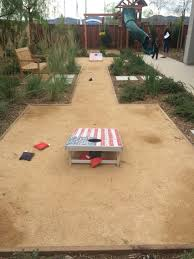 corn hole game area u2026 pinteres u2026