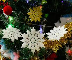 snowflake tree ornaments snowflake tree