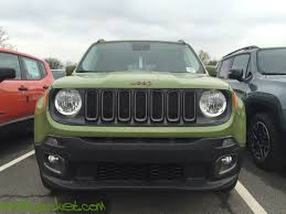 jeep renegade exterior 2016 jeep renegade 75th anniversary jungle green 9110 u2013 kevinspocket