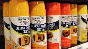 chart rust oleum metallic spray paint color chart